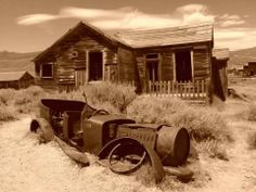 cursed ghost town -- Bodie, California