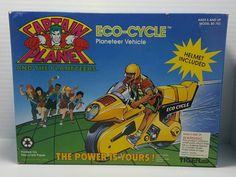 1991 captain planet eco-cycle by tiger toys new in box by csRetro on Etsy https://www.etsy.com/listing/474078208/1991-captain-planet-eco-cycle-by-tiger