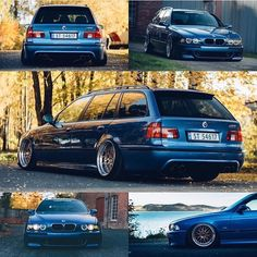 Pinnacle Wagon with @magnushn #S62 #E39 #Touring in #Estorilblue #E39M5 #M5