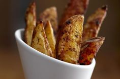Rutabaga oven-baked 'Fries' at About.com. Comments provide good feedback; suggest baking longer at 375 or 400; turning; coat with seasoning such as paprika.