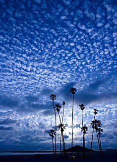 Sky high clouds