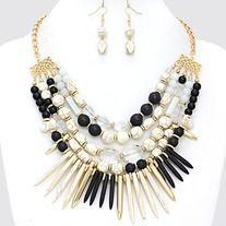 Products · Ivory and Navy Spike Bead Necklace Set · Ashas Jewelrybox's Store Admin $30 Ashas Jewelrybox is located at 3200 Dixie Hwy Louisville KY 40216 inside of She Lockx Beauty Salon/He Lockx Barber Shop 2 doors down from Franko's Resturant 24 hr website  www.shopajb.com we ship weekly