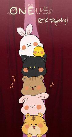 Kpop Drawings, Animal Drawings, Chibi Wallpaper, Iphone Wallpaper, Gifs, Kpop Fanart, Mamamoo, Kpop Groups, K Idols