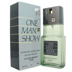 One Man Show by Jacques Bogart for Men's EDT Spray 3.3 oz/100 ml, New in Box #ONEMANSHOW