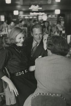 Curd Jürgens mit Hildegard Knef ...