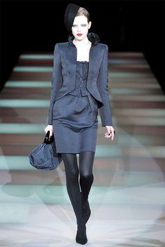 Sfilata Giorgio Armani Milano - Collezioni Autunno Inverno 2009/2010 - Vogue