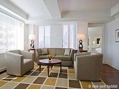 How about a classy one-bedroom apartment in Midtown West? It comes with access to upscale amenities such as business center, gym, sauna and indoor swimming pool, so check it out!