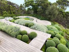 Cottage Garden Landscaping Weve compiled a collection garden styles to help get you started planning the garden youve always dreamed about. Terrace Garden, Garden Paths, Rocks Garden, Bush Garden, Landscape Design Plans, Coastal Gardens, Sloped Garden, Backyard Landscaping, Landscaping Ideas