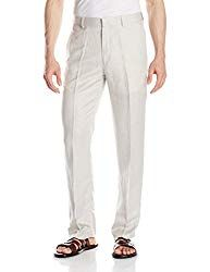 Beach Wedding Attire For Men - Elegant and and comfortable linen pants for a wedding under a hot summer sun.  Linen is known for its breathability and capacity to absorb moist on the skin. A must-have!