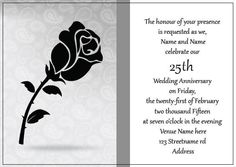 AI_012 Anniversary Invitations, 25th Wedding Anniversary, Invite, Monkey, This Is Us, Playsuit, Birthday Invitations, Monkeys