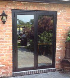 Replacing Patio Doors | Aluminium Bi-folding Exterior Doors, Buy ...