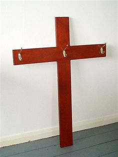 David Foggo, Coat-rack Cross, 2002 David, Easter, Teaching, Coat, Artist, Artwork, Sewing Coat, Work Of Art, Auguste Rodin Artwork