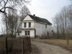 Жилой дом в бывшем  имении Малюзин. Фото Чистяков А.А.