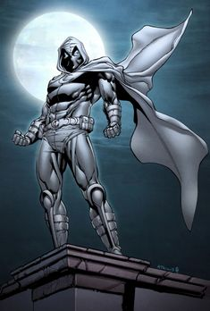 Moon Knight - Atkins + Gough ♥ ♥ Please feel free to repin ♥♥ http://unocollectibles.com