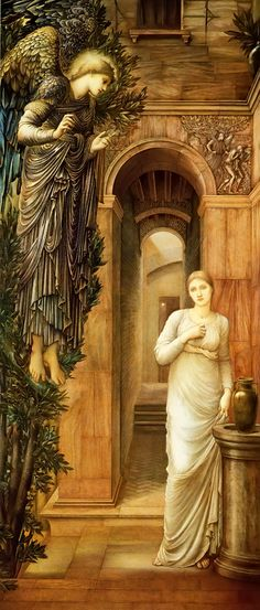The Annunciation, 1876 -Edward Burne-Jones