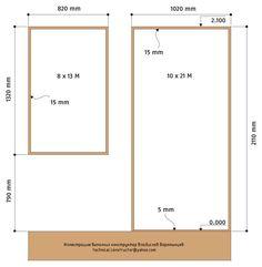 Рис. 9.19 Толщина монтажных зазоров, стандартная высота дверной / оконной перемычки от уровня чистового пола.