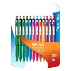 Paper Mate InkJoy Stick Ball Pen in Blue