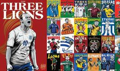 Wayne Rooney lets out a roar for the Three Lions in World Cup poster