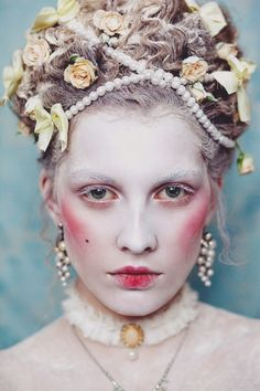 Rococo Inspired Makeup