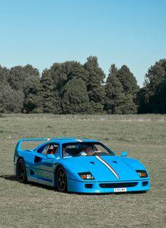Ferrari F40 in BLUE ♪•♪♫♫♫ JpM ENTERTAINMENT ♪•♪♫♫♫