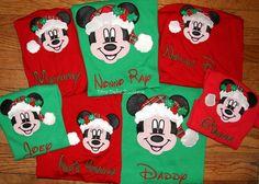 hey i found this really awesome etsy listing at httpswwwetsycomlisting211706677disney christmas santa hat mickey and my disney pinterest
