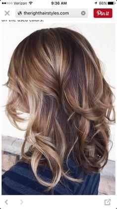 Love this one!! Blonde/brown bayalage