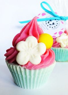 ON SALE  Sugar Rush Cupcake Soap by PitterPatternDesigns on Etsy