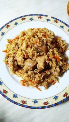 Greek Recipes, Fried Rice, Boho Chic, Fries, Food And Drink, Cooking, Ethnic Recipes, Kitchen, Greek Food Recipes