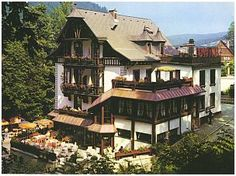 Hotel Pfaff in Triberg, Germany, the quintessential Black Forest accomodation..surrounded by the immense trees of the Black Forest and the Cuckoo clock capital of the world.  And the restaurant is excellent too!  The only disadvantage for us, as coffee drinkers, there was no coffee maker in our room .  But the charm of everything else more than made up for it!