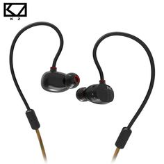 KZ ZS1 Dual Dynamic Driver Monitoring Noise Cancelling Stereo In-Ear Monitors Headphones HiFi Earphone With Microphone for Phone