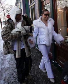 Mariah Carey Photos - Mariah Carey and husband Nick Cannon visit her mother's jewelry store, Joan Boyce in Aspen. - Mariah Carey & Nick Cannon Visiting Joan Boyce Jewelry Store