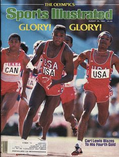 Huge collection of vintage, old, collectible, rage magazines spanning over 100 years with thousands of titles. Featuring Carl Lewis, Peter Read Miller. Olympic Sports, Sports Art, Olympic Games, 1984 Summer Olympics, Us Olympics, Sports Ilustrated, Carl Lewis, Si Cover, Sports