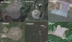 haarp type facilities : Arecibo, HIPAS, EISCAT.. also lets not forget the Japanese MU RADAR, and the SURA Ionospheric heating facility in Russia..