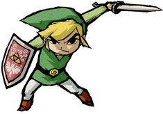 Link, Aggressive - Characters & Art - The Legend of Zelda: The Wind Waker HD