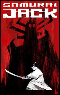 Samurai Jack comic book cover by Scott Wills: 5