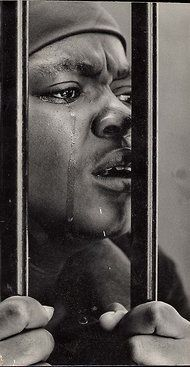 Alf Kumalo's photos are known for their candid detail of apartheid's cruelties. #black #white #photography