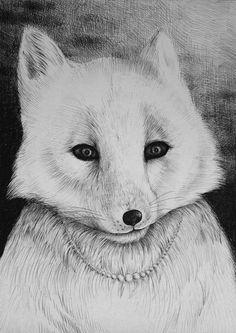 Snow Fox - A3 - Limited Edition