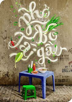 iZdesigner.com - Một Số Tác Phẩm Typography Việt Ấn Tượng