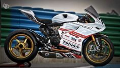 Ducati 1199 Panigale Piste Motorcycle #moto #ducati #circuito