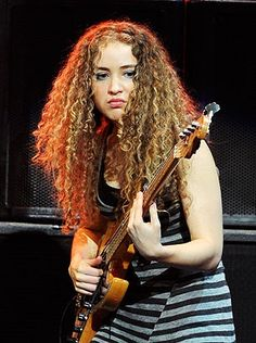 Tal Wilkenfeld - image is linked to Rolling Stone article about this bass phenom.