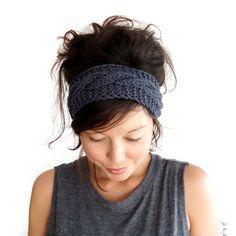 Cable Knit Headband