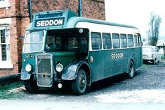 Former ENOC Bristol L5G ONO49 (309/1107) in its days with Seddon building contractors, based in Bolton.  This bus was purchased for preservation by one of the Eastern National Preservation Group's founder members, the late Terry Coughlin, and the bus is still one of the mainstays of the ENPG collection at Castle Point Transport Museum.   Photo taken by ???, from the Paul D Harrison Collection
