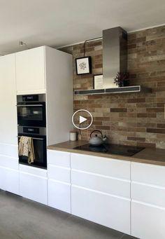 Ma nouvelle cuisine de rêve / Cuisine IKEA / Style scandinave / Cuisine blanche / ... #ideesdecuisine #cuisinemoderne #decorationdecuisine #modernedecoration