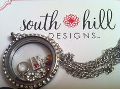 Create your own story with a South Hill Designs locket!