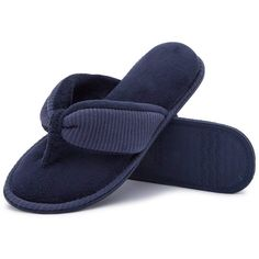 876a6a5e2994 RockDove Ladies  Memory Foam Flip Flop Slippers - House Spa Indoor Thong  Sandals Flip Flop