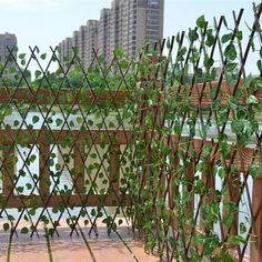 Natural Landscaping, Backyard Landscaping, Natural Fence, Privacy Fence Landscaping, Privacy Fence Designs, Privacy Ideas For Backyard, Natural Privacy Fences, Cheap Privacy Fence, Fence Ideas