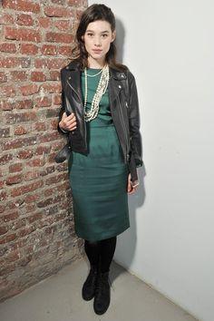 gracespain:  Astrid Berges Frisbey attending Acne show