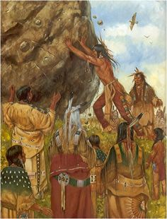 the three tests - Myth from The Sioux Tribe....