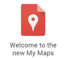 "Free Technology for Teachers: Google Maps Engine Lite Renamed ""My Maps"""