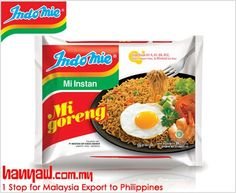 We export Indomie Noodles Instant mi Goreng to philippines. Visit-  http://www.hanyaw.com.my/Products/group/Instant_Noodles_Indomie.html